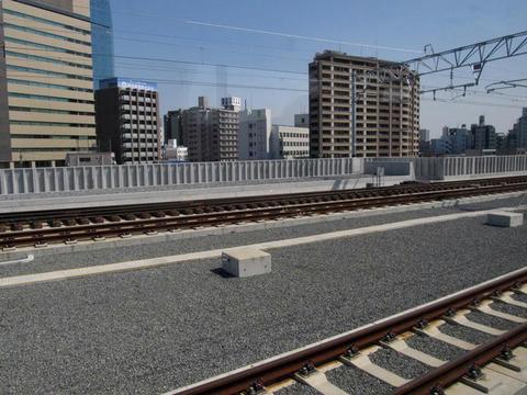 沿線風景@大分駅付近