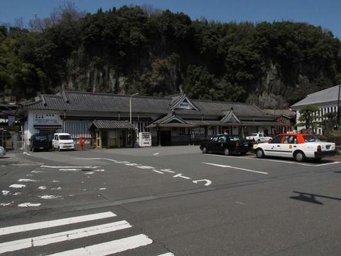 豊後竹田駅舎