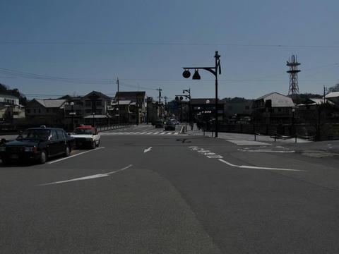 豊後竹田駅前風景