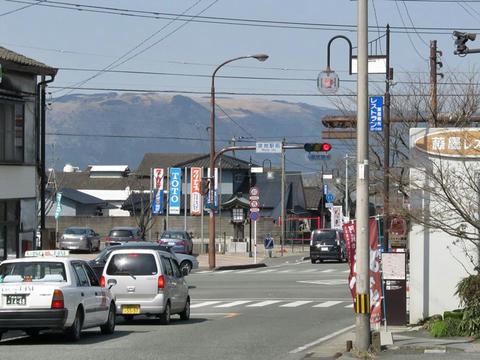 宮地駅前風景