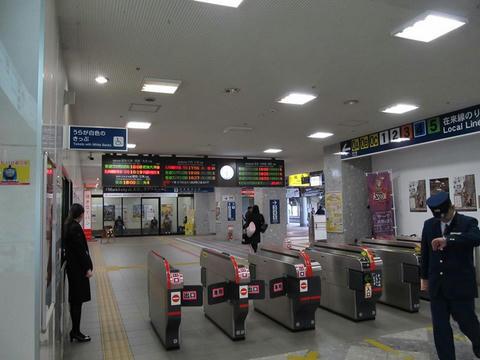 熊本駅改札口