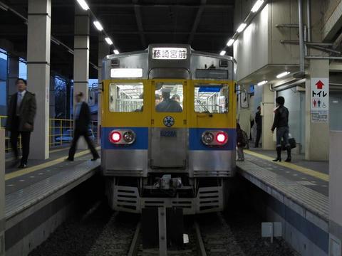 熊本電鉄6228A号車@藤崎宮前駅