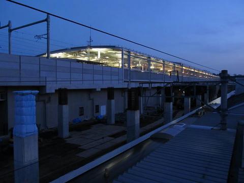 新幹線熊本駅高架駅舎