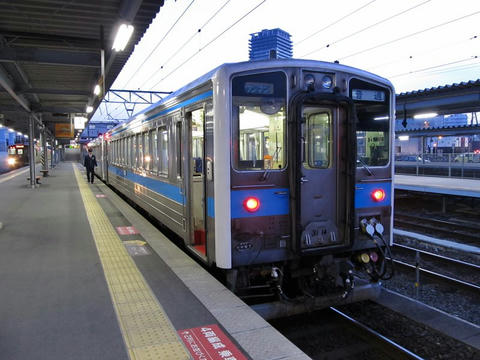 キハ31 14@熊本駅