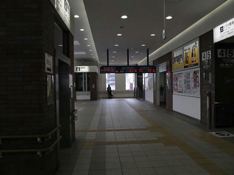 JR久留米駅改札内コンコース
