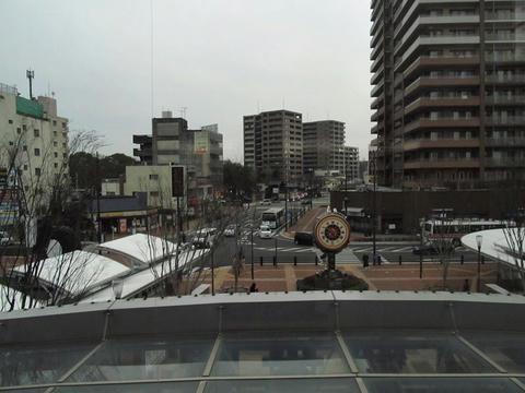 JR久留米駅前風景