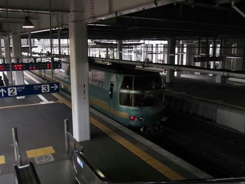 キハ71系ゆふいんの森@久留米駅