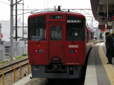 キハ200-1002@久留米駅