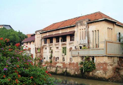 オランダ時代の建物