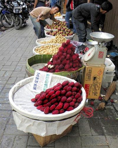 フルーツ売り