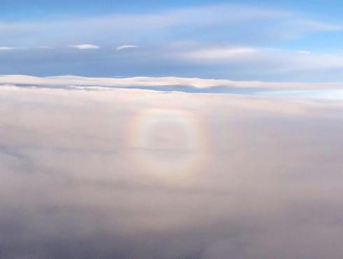 まんまるの虹