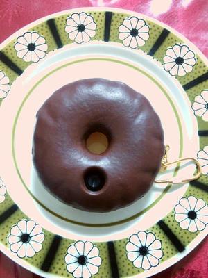 ドーナツカメラお皿にいれてみた