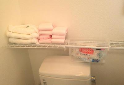トイレの簡易棚