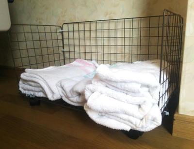 雑巾用の籠