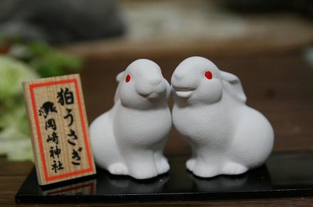 狛ウサギさん