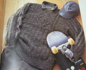 「この一着 彼のためのセーター」