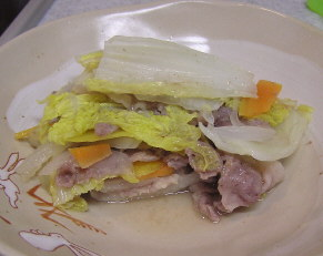ルクエで豚と野菜の重ね煮