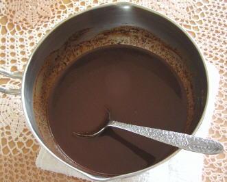 手作りチョコレートアイスクリーム