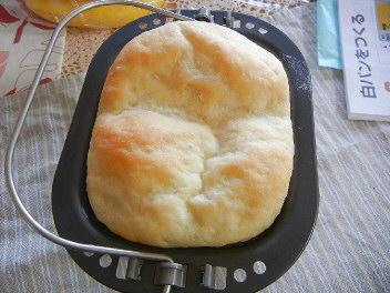 白パン焼いてみました
