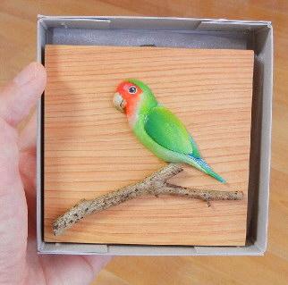 小樽「メリーゴーランド」さん 鳥の壁飾り