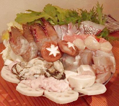意屋さんの海鮮鍋