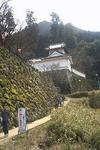 出石城の入口