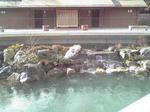 勝尾寺 スモークが消えた池