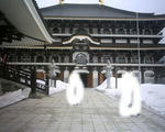大雪の長楽寺