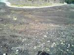山焼き後の砥峰高原高い場所から