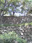 明石城の城壁
