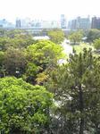 明石城櫓からの景色