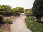 明石城の屋上庭園