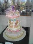 デコレーションケーキ(メリーゴーランド?)
