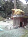 賀茂神社の牛の像3