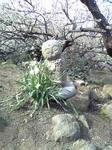 綾部山梅林のお地蔵さん