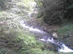 帝釈峡の渓流