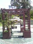 鳥取 花回廊のアーチ
