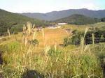 砥峰高原から見下ろした景色