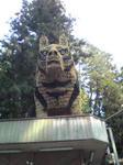 安志賀茂神社のトラ像3