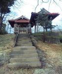 温泉津温泉街の神社