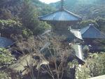 法華山一乗寺の景色