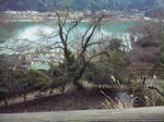 玄武洞公園からの眺め