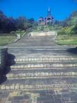 播磨中央公園・展望塔への階段