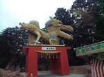 安志賀茂神社の辰像1