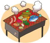 バーベキュー・BBQ・野外料理・網焼き