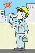 熱中症予防・水分補給・塩分補給・暑さ対策・スポーツドリンク