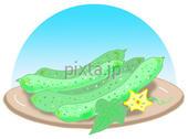 きゅうり・キュウリ・胡瓜・夏野菜・野菜・緑