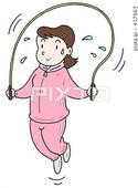 縄跳び・ダイエット・トレーニング・運動・体力向上