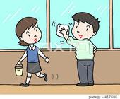 社内環境美化・社内清掃・掃除・窓拭き