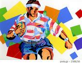 スポーツ - ラグビー・ラグビー選手